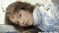 Kim So Hyun Looks Like a Porcelain Doll in Pictorial for Marie Claire
