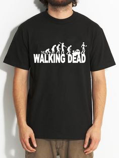 19cd66b0063 The Walking Dead T-Shirt – Men Casual 100% Cotton Printed Short Sleeve Tees