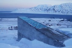 The Svalbard Global Seed Vault (aka the doomsday seed bank) is a militarized seed bank on the Norwegian arctic island of Spitsbergen created in 2008. Primary funding for the seed bank comes from the Bill & Melinda Gates Foundation, Rockefeller's CGIAR, DuPont and Syngenta. Similar to Swiss banks, the Norwegian government owns the actual seed vault while the depositors own the actual seeds they send.