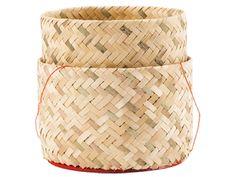 #bamboemandje voor kleefrijst