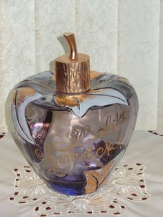 LOLITA  LEMPICKA  APPLE GIANT Glass Perfume BOTTLE  DISPLAY FACTICE DUMMY