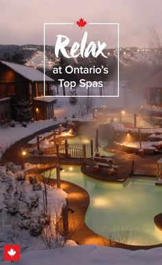 Diving Into Ontarios Spa Life Keep Exploring - Second Head To Ontario Home To Some Of Canadas Most Spectacular Spa Health And Wellness Havens Third Surrender These Oases Of Pampering Specialize In Helping You To Unwind Unplug Rechar Vacation Places, Vacation Destinations, Vacation Trips, Dream Vacations, Vacation Spots, Places To Travel, Places To Go, Romantic Vacations, Travel List