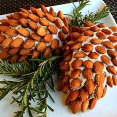 pinecone cheese display