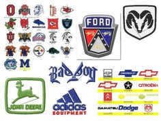 3500+ Famous Maker Embroidery Designs Logos