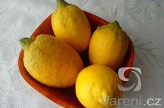 Citronový nápoj se zázvorem -