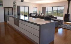 Makers Lane :: Large Concrete Kitchen Benchtop Custom Made, Bespoke Furniture made in Australia.