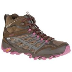 Merrell Moab FST Mid Waterproof Hiking Shoes for Ladies - 10.5M