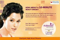 Makeover Monday in association with Lakme Salon on 28 January 2013 at High Street Phoenix | Events in Mumbai | MallsMarket