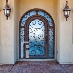 Barcelona Iron Entry Door and Transoms by First Impression Ironworks in Arizona. Beauty and security. #SecurityDoor #SecurityDoors #SteelDoor #WroughtIronDoors #IronEntryDoors #IronDoor #IronDoors #FrontDoor #FrontDoorEnvy #FrontDoorGoals #FrontDoors #HomeDesign #HomeImprovement #HomeStyle #CurbAppeal #EntranceEnvy #ArizonaHomes #AZHome #AmericanMade #tuscan