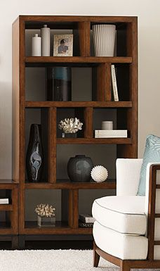 Tommy Bahama Ocean Club Tradewinds Bookcase/Etagere