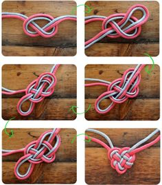 How to make a ❤ Heart knot!