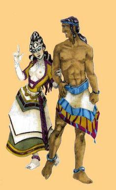 minoan colours