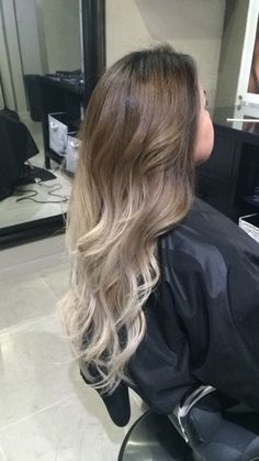blonde ombre filipino - Google Search