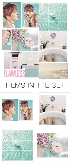 """""""ART/Blue&Pink"""" by sena-celik ❤ liked on Polyvore featuring art"""