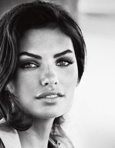 She has many faces, but this photo of a young Alyssa Miller is stunning.