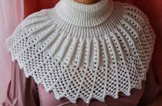 Knit Collar Model