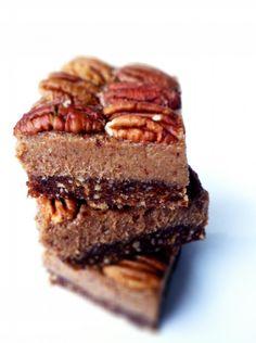 healthy pecan pie bites - gluten free