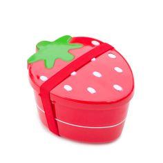 Lunchbox fraise enfant rouge bento vente accessoires et objets décoration enfants : My Little Bazar.