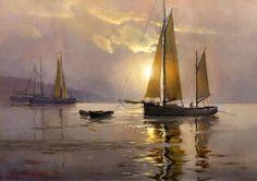 Twilight on the bay