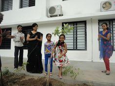 we had celebrated tree plantation day @ ZIS
