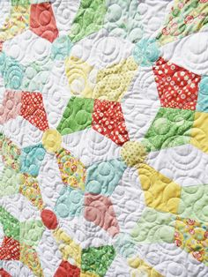 Kaleidoscope quilt by Nancy on My Cotton Creations Blog using Hideaway!