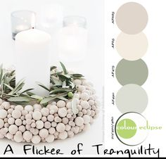 Paint Palettes {A Flicker of Tranquility}