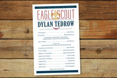 Red White & Blue Eagle Scout Court of Honor Coordinating Eagle Scout Ceremony, Subway Art, Art Programs, Animal Party, Red And White, Invitations, Feelings, Scouts, Digital