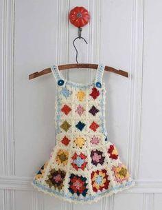 Granny Square Jumper Crochet Pattern