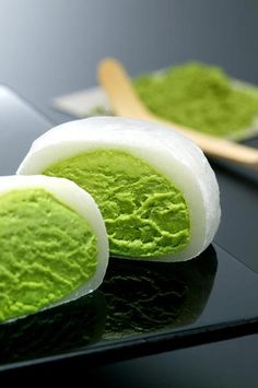 Matcha Nama Daifuku, Mochi-Wrapped #Japanese Green Tea Ice Cream|とろける抹茶生大福