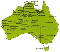 68 best australia maps images on pinterest australia map of australias best meteorite craters australian geographic there are 176 significant meteor craters in the gumiabroncs Image collections