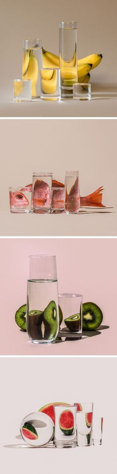 Foods Distorted Through Liquid and Glass in Photographs by Suzanne Saroff - #Distorted #Foods #fotografieren #Glass #liquid #photographs #Saroff #Suzanne
