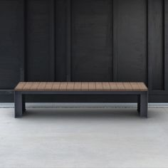 Tired of all the bells and whistles? Passepartout wood is your man! A completely unpretentious, frill-free bench. For those who like to keep it simple. Urban Furniture, Street Furniture, Outdoor Furniture, Outdoor Decor, Landscape Architecture, Landscape Design, Public Seating, Sustainable Furniture, Keep It Simple