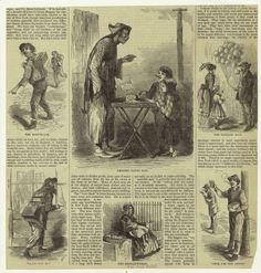 [Peddlers, New York City, 1860's.]