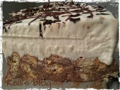 Kalli's blog: Τούρτα Μωσαϊκό Cheesecake Tarts, Greek Sweets, Cheesecakes, Sweet Recipes, Party Time, Recipies, Pudding, Chocolate, Baking