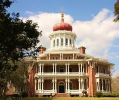 Longwood Plantation, Natchez, Ms., 30,000 sq. ft .  Largest octagonal house in the US