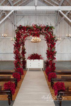 35 Romantic Christmas Wedding Decor Ideas - Beauty of Wedding Mod Wedding, Floral Wedding, Fall Wedding, Wedding Colors, Wedding Events, Wedding Flowers, Geek Wedding, Wedding Black, Botanical Wedding