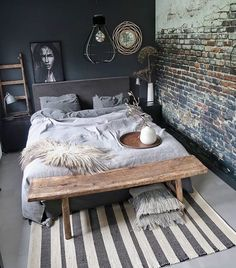 Cosy Bedroom, Small Room Bedroom, Home Decor Bedroom, Home And Living, Home Furniture, House Design, Interior Design, Architecture, House Styles