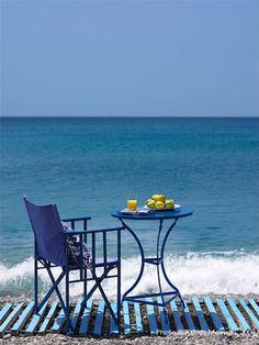 Breakfast at Sea...