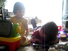 parallel play...too cute!