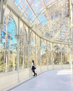 Palazzo di cristallo a Madrid,