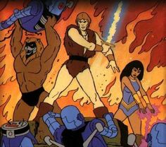 Favorite Fictional Character --- Thundarr the Barbarian Best 80s Cartoons, Classic Cartoons, Cartoon Tv Shows, Cartoon Art, Wolverine, Savage, Marvel Comics, Film Movie, Movies