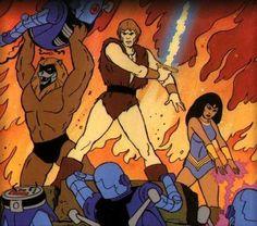 thundarr the barbarian battle - Google Search