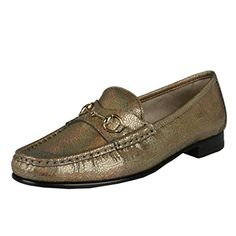 3a536bd5aa2a Gucci Women s Sparkle Leather Loafers Moccasins Shoes US 8 IT 38