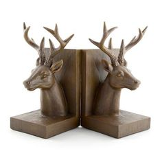 Stag Bookends #Dunelm #Stag #Bookends
