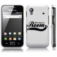 "Samsung S5830 Galaxy Ace ""Don't Be Jel"" Glossy Image Back Case by Terrapin - Dont Be Jel Be Reem Black (122-002-024)   The look and feel of this case can't be beaten. At Jellibean we pride ourselves on providing the highest quality products at low low prices, why not browse further for cases, covers, screen protectors, chargers and datacables for all the leading models of mobile phone and tablet. Jellibean - Fun or Functional, we've got it covered."