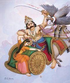 Manifestations of the major Hindu deities Krishna Drawing, Krishna Art, Indian Art Paintings, Classic Paintings, Oil Paintings, Ramayana Story, Lord Sri Rama, Cute Girl Hd Wallpaper, Lord Rama Images