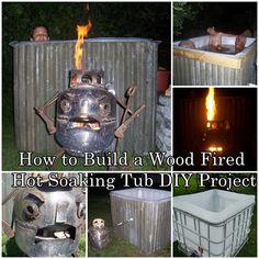 How to Build a Wood Fired Hot Soaking Tub DIY Project Homesteading  - The Homestead Survival .Com