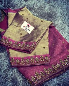 Kurta Designs, Silk Saree Blouse Designs, Fancy Blouse Designs, Bridal Blouse Designs, Blouse Neck Designs, Kids Dress Wear, Saree Trends, Designer Blouse Patterns, Embroidery Fashion