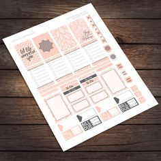 Pink Surprise Planner Stickers / Happy Planner / by VNBDesigns