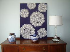 Dream it...build it...style it!: Doilies reinterpreted